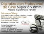 Traspaso profesional de Cine Super 8 a DVD¡¡¡