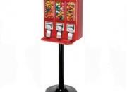 Máquinas dispensadoras de dulces y juguetes, oportunidad de negocios.