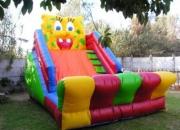 Venta de todo tipo de juegos para entretenimiento de eventos, inflables, toro mecánico