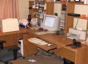 Vendo living y escritorio PC