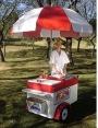 Carrito de hot dog producido en Brasil