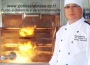 Curso especial  a DISTANCIA de  POLLOS A LA BRASA ( envìo  inmediato) desde Lima-PERU