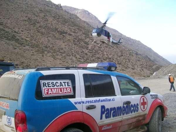 Paramedico licencia a-2 se necesita para faenas mineras