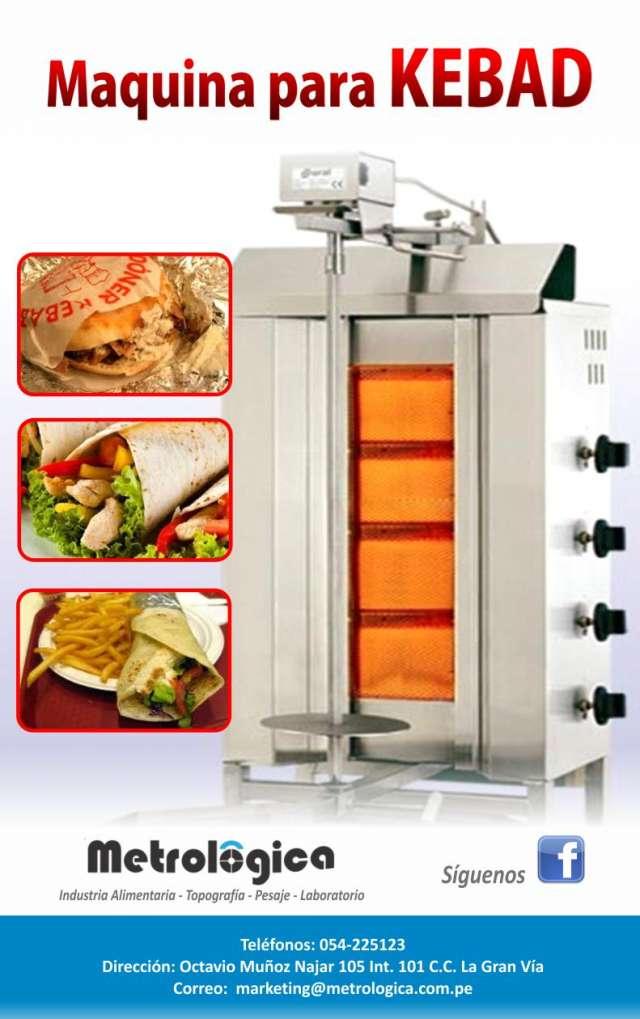 Aquina para kebab importada, doner machine kebab, kebab,chile,doner