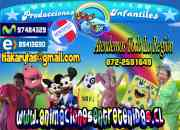 Animaciones infantiles rancagua arriendo de juegos inflables