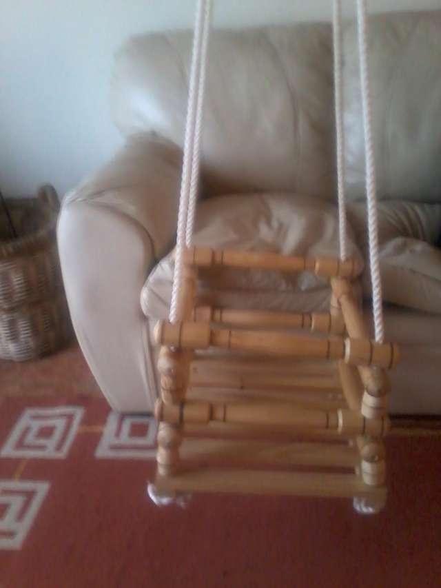 Columpio de madera para niños en Talca - Otros Servicios   80719