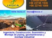 Fabricación de piezas especiales Valparaíso-Viña del Mar  - Leuca Ltda +56 22745-1936