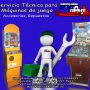 Servicio Técnico para maquinas de juego