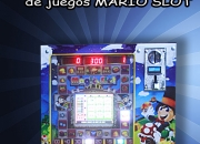 Mini kit armado maquina de juegos mario slot