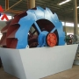 Lavadora de arena de tipo rueda