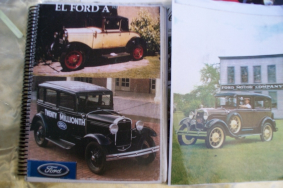 Manual taller ford a * 1928-1931  en español