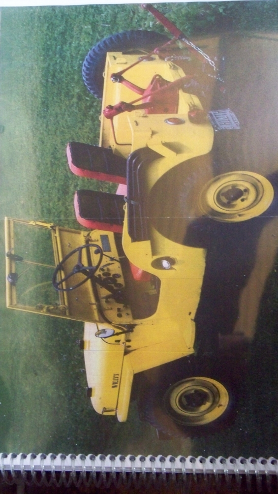 Manual taller jeep willys cj 2 a + 1947  en español