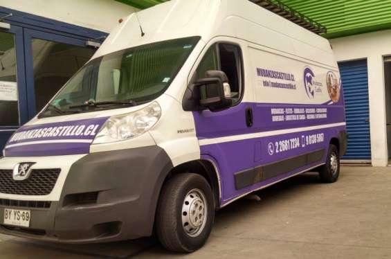 Mudanza oficinas camion para mudanza y embalaje
