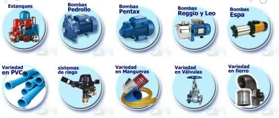 Mauricio pvc, tubos pvc,cañerias cobre y galvanizados,-fitting -bombas de agua