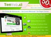Sitios Web - Todo Incluido - 50%Dcto