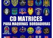 Matrices bordado - espectacular cd con 20000 diseños