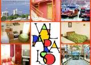 apartamento full se arrienda diario centrico en valparaiso