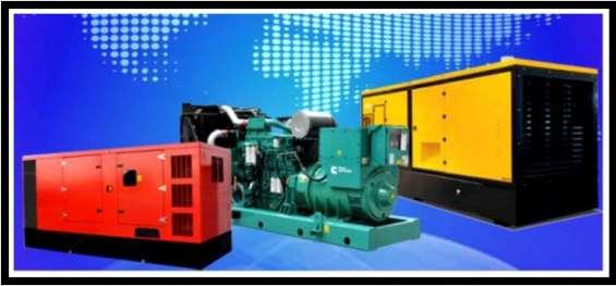 Generadores diesel trifasicos y monofasicos, desde 10 kva a 500 kva tel 232450110