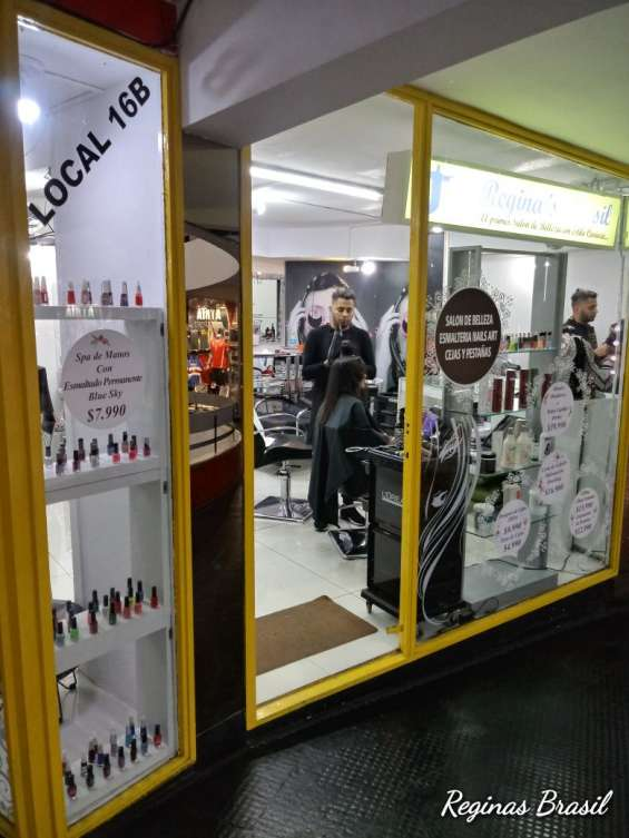 Venta derecho a llave salon de belleza con clientela y funcionando