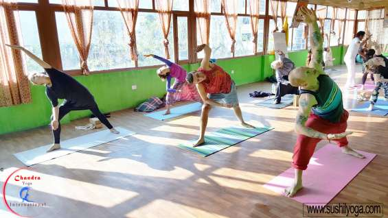 Registered yoga teacher training india